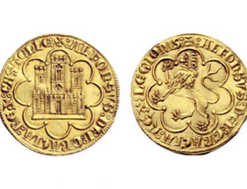Monedas de oro leonesas y castellanas
