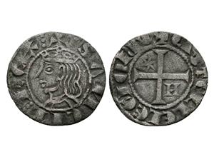 Meaja coronada de Sancho IV. Murcia Sancho-1286-ii-momeca-ibercoin-M